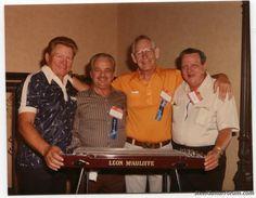 Bud Isaacs, Speedy West, Leon McCauliffe and Billy Bowman