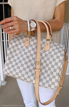 Classic-Fashion-Over-40-Talbots-Tan-Sweater-White-Skinny-Jeans-Louis-Vuitton-Azur