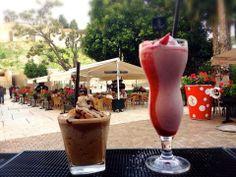 #Frappé Galleta de Chocolate & #Smoothie de Fresa