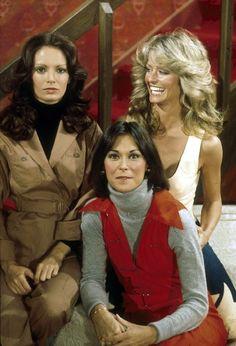 Charlie's Angels. Jaclyn Smith, Kate Jackson and Farrah Fawcett.