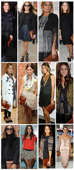 THE OLIVIA PALERMO LOOKBOOK: OLIVIA PALERMO: 1000 Ways to Wear The Same Clutch .