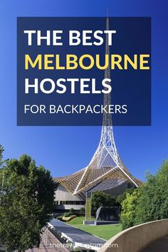 Discover the best hostels in Melbourne, Australia. From the best party hostels to the best hostels for solo travelers, find the perfect hostel for you here. Queensland Australia, Australia Living, Melbourne Australia, Australia Travel, Travel Guides, Travel Tips, Travel Destinations, Budget Travel, Melbourne Street