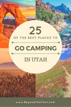 Here are the best places to go camping in Utah whether you prefer tent camping, RV camping, or even free dispersed camping.Here are the best places to go camping in Utah whether you prefer tent camping, RV camping, or even free dispersed camping. Diy Camping, Camping Ideas, Camping Hacks, Zelt Camping, Utah Camping, Best Tents For Camping, Camping Checklist, Camping With Kids, Family Camping