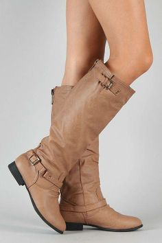 #Coco-1 Buckle Riding Knee High Boot $30.90. I'm getting these this week!