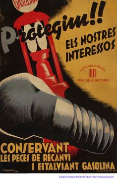 Spain - 1936. - GC - poster - Carles Fontsere
