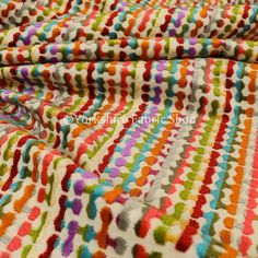 Soft Woven Jacquard Velvet Bright Coloured Geometric Retro Pattern Upholstery Fabrics For Sofas Curtains & Furnishings - Sold By The Metre