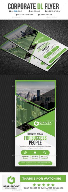 Features: DL Flyer Template Easy Customizable and Editable Print size: 4.15x8.55 inches Final size: 3.9x8.3 inches CMYK Color Design in 300 DPI Resolution Print Ready Format Included files are 1 psd & help.txt. All PSD files are Grouped & layered. Note : photo