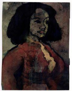 Die Spaniserin (The Spanish Woman) (1941-46) — Emil Nolde