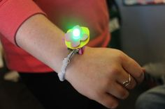 Picture of LED Pipe Cleaner Bracelet