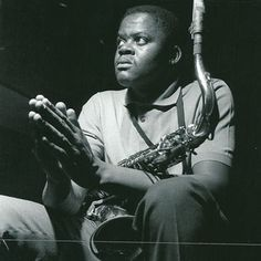 Stanley Turrentine 5/04/1935 – 12/09/2000  Tenor sax  Photograph by Francis Wolff