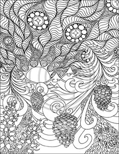 A Coloring Book for Book for Big Kids