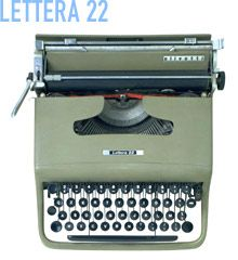 Another design gem ! - Lettera 22 from Olivetti (1950) Designed by Marcello Nizzoli.