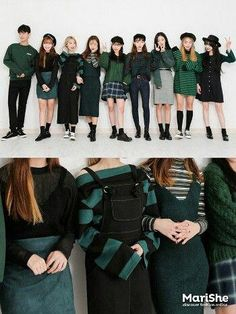korean fashion trends that looks stunning! Korean Fashion Trends, Korean Street Fashion, Korea Fashion, Asian Fashion, Cute Fashion, Look Fashion, Girl Fashion, Fashion Outfits, Fashion Tips
