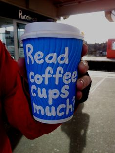 Puccinos cup read | Making a Marque (by Waldo Pancake) Coffee Cups, Pancakes, Mugs, Reading, Tableware, How To Make, Top, Coffee Mugs, Dinnerware