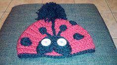 Gorros marieta crochet