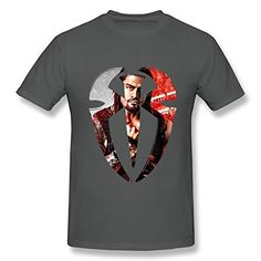 MJ Wwe Roman Reigns Logo Cotton T Shirt For Men DeepHeather XXL MJ http://www.amazon.com/dp/B0118O4XJK/ref=cm_sw_r_pi_dp_QpJNvb0QJ0PEK