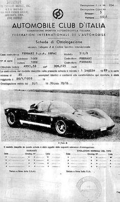 ca Ferrari Documents....