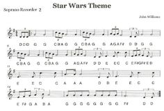 "Third Street Music: Recorder Ensemble - ""Star Wars"" - Second Recorders"