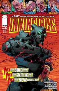 INVINCIBLE—The world's most successful modern superhero blows minds, sells out -