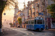 Ранок у Вінниці. Україна. - Morning in Vinnitsa Ukraine.