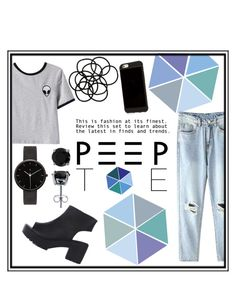 """Peep toe"" by icecoldbitch ❤ liked on Polyvore featuring Chicnova Fashion, Monki, I Love Ugly and BERRICLE"