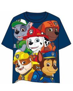 Camiseta Patrulla Canina Paw Patrol Marino: Amazon.es: Ropa y accesorios