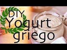 Como hacer yogurt griego light en casa y 2 recetas rapidas / Homemade Greek Yogurt - YouTube