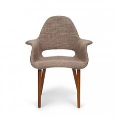 Eames designed Light Brown Organic Chair some colors