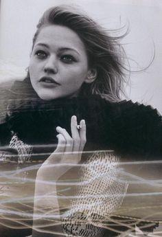 """Vogue Paris May 2006 - """" Elle du désir"""" by Peter Lindbergh Sasha Pivovarova, Peter Lindbergh, Vogue Paris, Vogue Photo, Russian Models, Future Fashion, Film Director, Park City, Model Photos"""