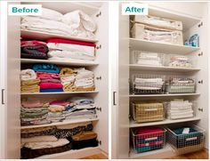 How to organise your linen cupboard | Keep Calm Get Organised