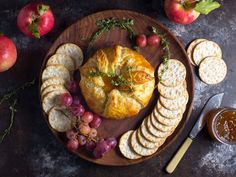 Baked Brie en Croûte With Thyme and Fig Jam Recipe | Serious Eats