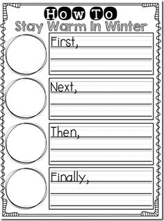 how-to writing sheets