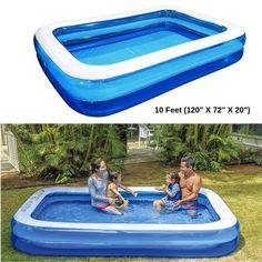 Inflatable Family Swimming Pool Deluxe Kid Outdoor Swim Play Backyard Lounge for sale online Water Play For Kids, Family Kids, 6 Years, Cool Kids, Playroom, Swimming Pools, Lounge, Backyard, Outdoor Decor