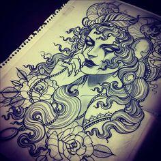 Emily rose Murray tattoo design #2