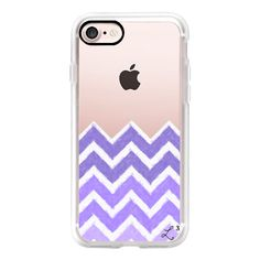 Chevron Canvas Purple - iPhone 7 Case, iPhone 7 Plus Case, iPhone 7... (370 SEK) ❤ liked on Polyvore featuring accessories, tech accessories, iphone case, slim iphone case, iphone cases, iphone cover case, purple iphone case and chevron iphone case