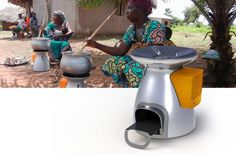 It's a Rocket Stove that also generates electricity! Not only is this brilliant but it takes home preparedness to a new level.  BioLite HomeStove Overview - BioLite Stove