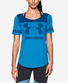Under Armour Colorblocked Jersey T-Shirt - White/Black XS