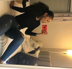 Fitness clothes outfits curves Ideas for 2019 Fall Outfits, Casual Outfits, Cute Outfits, Fashion Outfits, Swag Outfits, Curly Hair Styles, Natural Hair Styles, Look Girl, Mein Style