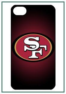 NFL - San Francisco 49ers Francisco NFL San iPhone 4s iPhone4s Black Designer Hard Case Cover Protector Bumper by DIY. $18.99