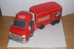 Coca cola Xmas lorry  Cake by oatescakes. Got to love the coke lorry and its a cake :-)