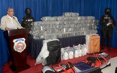cool La DNCD apresa 5 venezolanos con 349 paquetes de cocaína