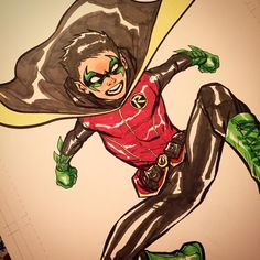 Damian Wayne by Ale Garza #robin #batman