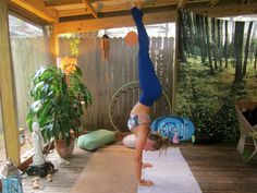 Join me and learn how to do a headstand. A step-by-step tutorial to get upside down, reverse your blood flow, increase your balance, and boost your energy!