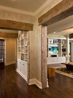 Image result for old beam door frame opening in house