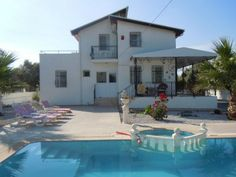 O/A £95,000 Whitetree Estates are pleased to offer For Sale this Opulent 4 Bedroom Detached Villa with Private Swimming Pool For Sale, in semi rural location, surrounded by Olive Groves, near Akbuk  700 ms plot Private Walled Garden Private Swimming Pool Roof Terrace Wood Burning Stove Fully Furnished