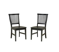 Home Styles Arts and Crafts Dining Chair - Set of 2