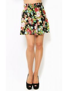 Fresh #Florals Skater #Skirt