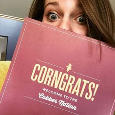 We're loving the acceptance selfies. CORNgrats Class of 2020 Cobbers! #cordmn