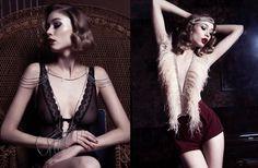 angelles paris, créatrice de mode - bijoux coquins, bracelets sexy, parure, harnais, accessoires de mode