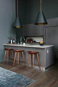 Barstuhle aus Holz für eine coole Ambiente
